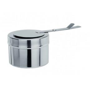 Récipient à pâte combustible, en inox, pour les plats à frire