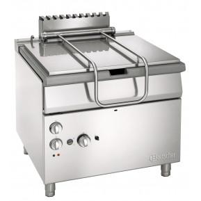 Bartscher Gas-Kippbratpfanne Profi 700 mit elektromotorischer Kippvorrichtung | Kochtechnik/Kippbratpfanne/Gas-Kippbratpfannen