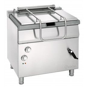 Bartscher Elektro-Kippbratpfanne Profi 700 mit Handradkippvorrichtung   Kochtechnik/Kippbratpfanne/Elektro-Kippbratpfannen