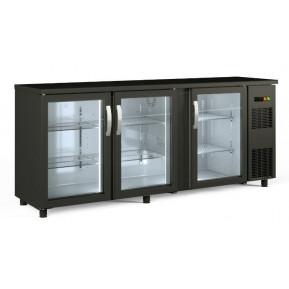 Arrière de bar vitré réfrigéré PROFI 3/0