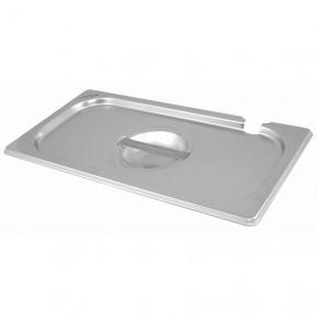 Gastronormbehälterdeckel ECO GN 1/1 - mit Löffelaussparung