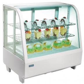 Kühlvitrine Polar 100L weiß