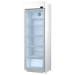 Getränkekühlschrank Profi 400 weiß mit Leuchtaufsatz | Kühltechnik/Kühlschränke/Getränkekühlschränke