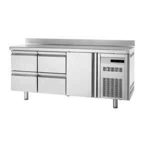 Bäckereikühltisch Premium 1/4 mit Aufkantung