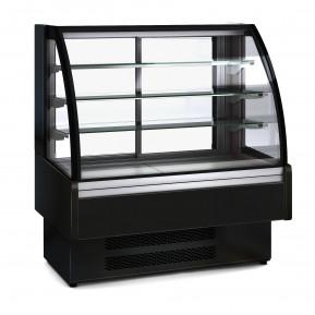 Kühlvitrine Profi 130S - rundes Frontglas   Kühltechnik/Kühlvitrinen/Tischkühlvitrinen