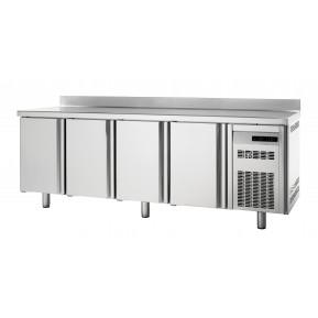 Tiefkühltisch Premium 4/0 mit Aufkantung | Kühltechnik/Kühltische/Tiefkühltische