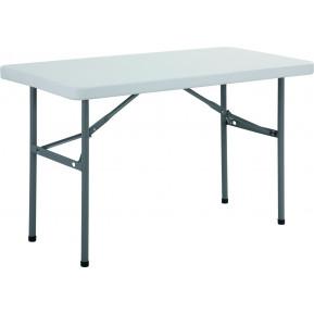 Table rectangulaire pliante Bolero 1220mm
