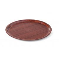 """Plateau de service """"Woodform"""" rond, bord plat"""