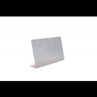 Écran de protection anti-postillons en acrylique 75 x 18cm, H: 48cm