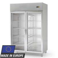 Armoire pâtissière réfrigérée Profi1400 EN - avec 2portes en verre