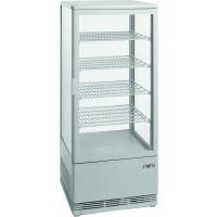 Saro Umluftkühlvitrine 98L weiß | Kühltechnik/Kühlvitrinen/Tischkühlvitrinen