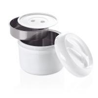 Kunststoff-Thermobehälter (für 2 Einsätze) - 2 Liter gesamt   Lager & Transport/Speisentransport/Speisentransportbehälter