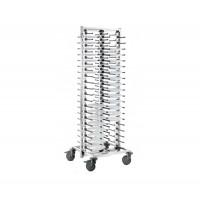Blanco SERVISTAR GASTRO 80 auf Rädern für 80 Teller, fertig montiert   Lager & Transport/Geschirr- & Glastransport/Tellerstapler