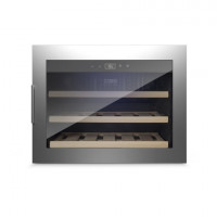 CASO Weinkühlschrank 18 EB Inox | Kühltechnik/Kühlschränke/Weinkühlschränke