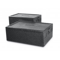 Thermobox GN 1/1 'Hendi' grau 40 Liter 600x400x(H)275mm | Lager & Transport/Speisentransport/Thermoboxen