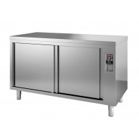 Armoire chauffante ECO 14x7 avec portes coulissantes
