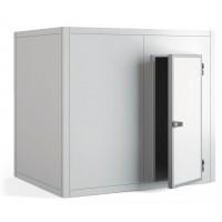 Chambre froide positive PROFI 80 mm de paroi, 2 390 x 1 990 x 2 160 mm