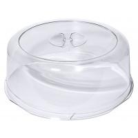 Cloche à tarte transparente, LURAN, diamètre: 33cm, hauteur 12,5cm