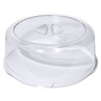 Cloche à tarte transparente, LURAN, diamètre: 30cm, hauteur 9,5cm
