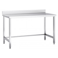 Table de travail en inox Basic 20x7
