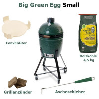 Pack complet barbecue Small EGG Big Green Egg