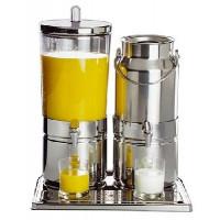 Distributeur de jus et de lait APS MIX 42 x 35 cm, H : 52 cm