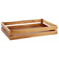 Box en bois APS -SUPERBOX- 55,5 x 35 cm, H : 10,5 cm