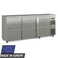 Barkühltisch PROFI 0/6 - Edelstahl