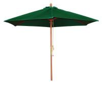 Parasol Bolero rond, vert, 2,5mètres