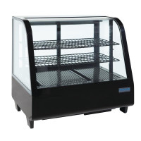 Kuchenvitrine Mini Polar 100 - schwarz  | Kühltechnik/Kühlvitrinen/Tischkühlvitrinen