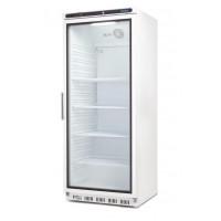 Armoire réfrigérée Polar 600L, porte vitrée