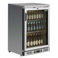 Barkühlschrank Polar 138 Liter Edelstahl | Kühltechnik/Kühlschränke/Getränkekühlschränke