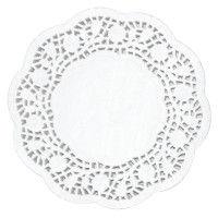 250napperons à tarte, diamètre 10cm