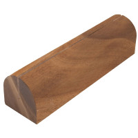 Affichage des cartes de menu en bois de T&G Woodware