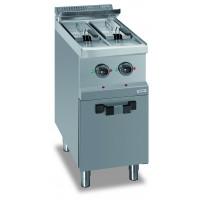 Friteuse sur coffre Dexion série 77 - 40/70 7+7 litres