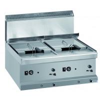 Gas-Fritteuse Dexion Serie 77 - 70/70 9+9 Liter Tischgerät