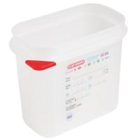 Araven Farbkodierte Lebensmittelbehälter GN 1/9, 10 cm | Lager & Transport/Lebensmittelaufbewahrung/Vorratsbehälter/Lebensmittelbehälter