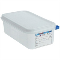 Araven Farbkodierte Lebensmittelbehälter GN 1/4, 10 cm | Lager & Transport/Lebensmittelaufbewahrung/Vorratsbehälter/Lebensmittelbehälter