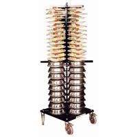 Jackstack Tellerwagen auf Rädern für 88 Teller   Lager & Transport/Geschirr- & Glastransport/Tellerstapler