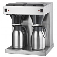 Filterkaffeemaschine Eco 2x2 Liter mit Thermoskannen