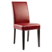Esszimmerstühle Bolero Kunstleder rot