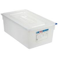 Araven Farbkodierte Lebensmittelbehälter GN 1/1, 10 cm   Lager & Transport/Lebensmittelaufbewahrung/Vorratsbehälter/Lebensmittelbehälter
