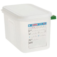 Araven Farbkodierte Lebensmittelbehälter GN 1/4, 6,5 cm | Lager & Transport/Lebensmittelaufbewahrung/Vorratsbehälter/Lebensmittelbehälter