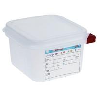 Araven Farbkodierte Lebensmittelbehälter 1/6 GN, 6,5 cm | Lager & Transport/Lebensmittelaufbewahrung/Vorratsbehälter/Lebensmittelbehälter