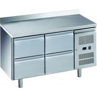Kühltisch ECO 0/4 mit Aufkantung - GN 1/1 | Kühltechnik/Kühltische/Gastro-Kühltische/Gastro-Kühltische 700