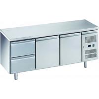 Kühltisch ECO 2/2 - GN 1/1 | Kühltechnik/Kühltische/Gastro-Kühltische/Gastro-Kühltische 700