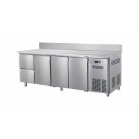 Kühltisch ECO 3/2 mit Aufkantung - GN 1/1 | Kühltechnik/Kühltische/Gastro-Kühltische/Kühltische-Mini