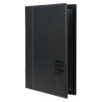 Porte-menu Trendy A4 noir