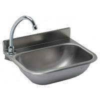 Handwaschbecken ECO 380 x 290 mm mit 60 mm Aufkantung