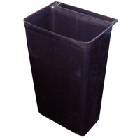 Bac à ordures pour chariot de transport/service 29 litres